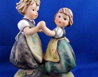 Large Spring Dance  Hummel Figurine