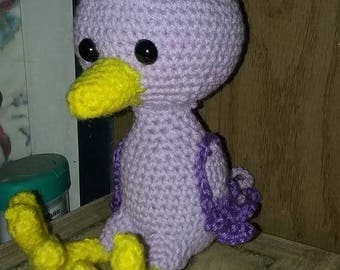 Burtie the Purple Bird