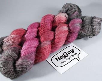 Hand Dyed Alpaca/Merino/Nylon Blend Sock Yarn - Autumn Bloom