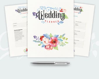Wedding Planner Printable Ultimate Printable Wedding