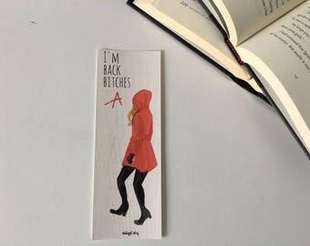 Pretty Little Liars A Cardboard Bookmark //