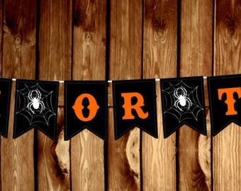 Halloween - Trick or Treat Banner