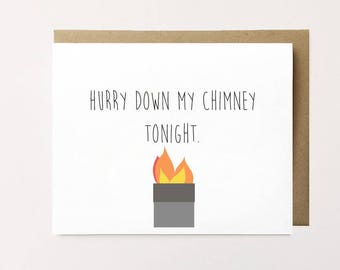 Funny Christmas card, Dark Humor Christmas card, Cheeky Christmas card for ex, Funny holiday card, Christmas humor card, Xmas Card for ex