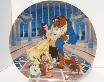 Love's First Dance Plate, Beauty and the Beast Plate, Knowles Limited Edition Plate