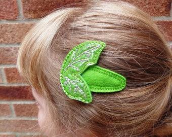 Glitter Fairy Wings Hair Clips - Animal  - Children Pretty - Hair Accessory - Barrette - Hair Band - Hair Grip - Fascinator - Bobby Pin