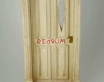 The Shining - REDRUM Door (Diorama) 1/10th Scale : redrum door - pezcame.com