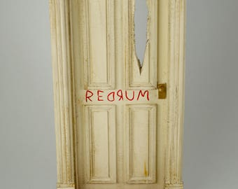 The Shining - REDRUM Door (Diorama) 1/10th Scale & A Nightmare on Elm St Freddy Krueger Diorama
