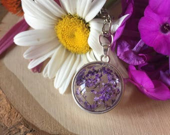 queen's anne lace pendant, gift for her