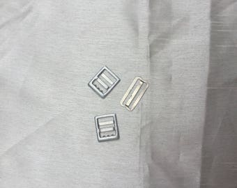 Group of 3 vintage 1980s small belt buckles