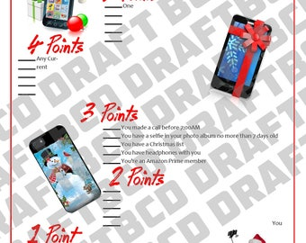 Christmas Game - What's in your Phone?