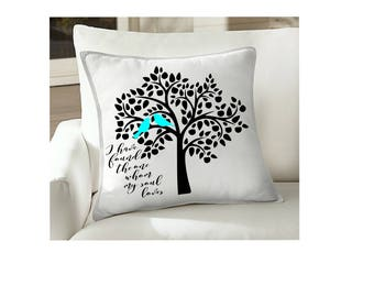 love birds and tree   I have found the one whom my soul loves SVG Cut file  Cricut explore file Love Wedding fabric decal