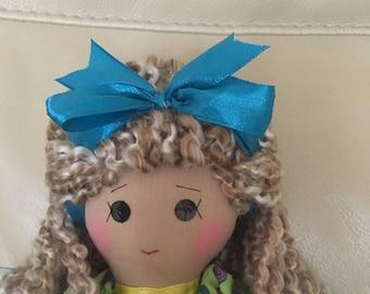 Traditional rag doll, classic rag doll, unique rag doll, handmade rag doll, original rag doll