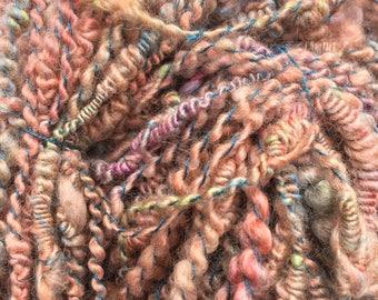 Sunrise - Hand Spun, Hand Dyed Alpaca Yarn