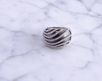 Sterling Silver Swirl Ring (6)