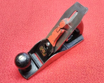 """Vintage Bench Plane Mohawk Shelburne 9"""" Smooth Bottom Made In USA Quality Old Tool"""