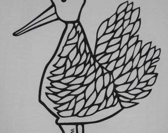 Duck print limited edition T-shirt