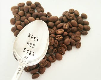 Best Mom Ever / Gift For Mom / Mother's Day Gift / Coffee Spoon / Gift From Child / Unique gift for mom / Love You Mom / Mum / Maman