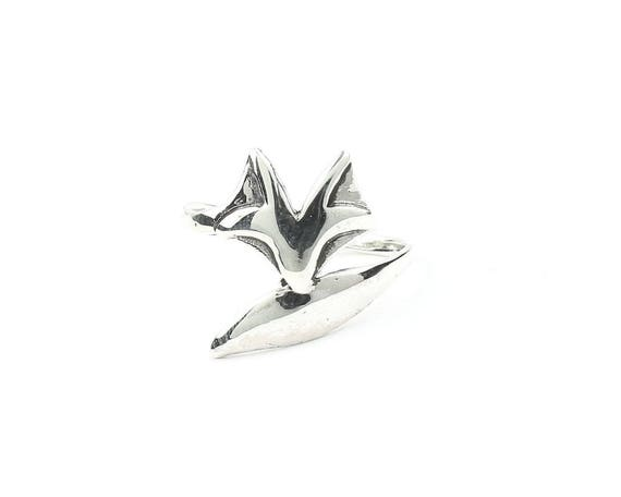Sterling Silver Fox Ring, Animal Ring, Boho, Bohemian,  Festival, Hippie, Gypsy, Stacking Ring