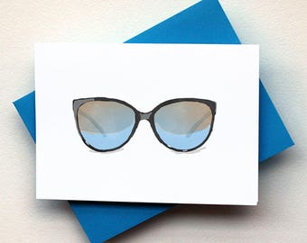 Retro Sunglasses Card