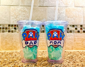 Paw Patrol Personalized Tumbler Cup - 1 Cup