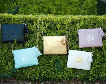 Kendall Purse, Monogrammed Crossbody Bag, Monogrammed Purse, Personalized Purse, Monogrammed Gift