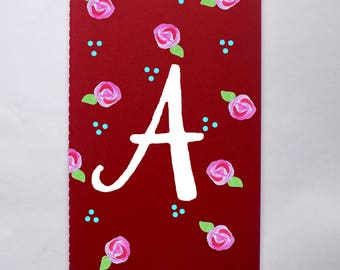 Personalized Initial Journal (5x8)