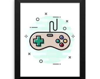 Nintendo Wall Art nintendo print | etsy