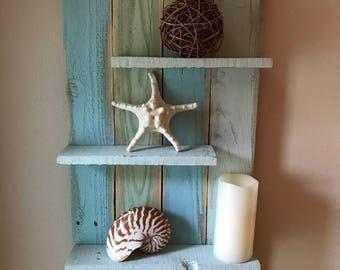 Hand Made Coastal Shelf