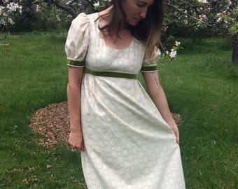 Juliet Dress // Vintage 1970s // handmade prom dress