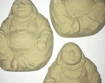 The Green Buddha Bath Bomb set of 3