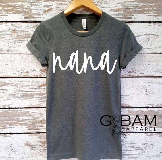 Custom Shirt  /  Family Shirt  / Nana, Papa, Grandma, Grandma, Oma, Opa, Auntie, Uncle /
