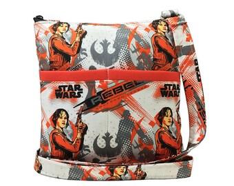 Star Wars Crossbody Bag // Jyn Erso Sling Bag // Rogue One Crossbody Purse // Shoulder Bag // Hipster