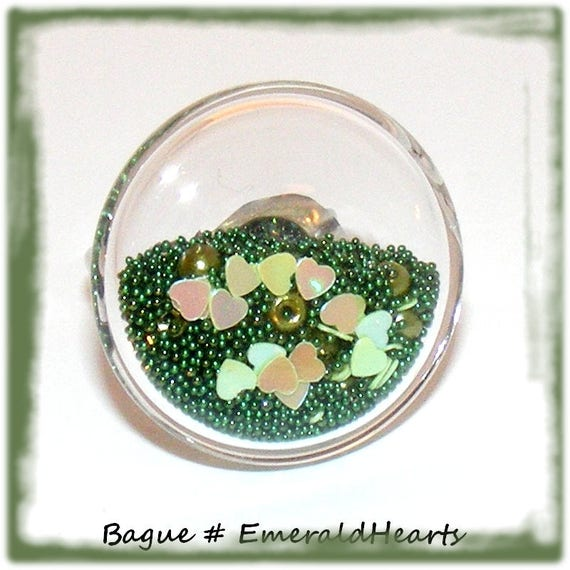 Bague globe [EmeraldHearts]