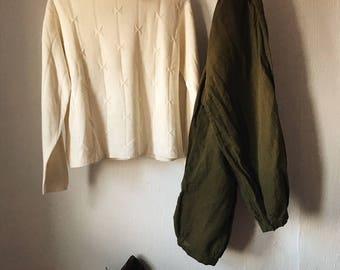 Bone & Arrow Ivory Sweater