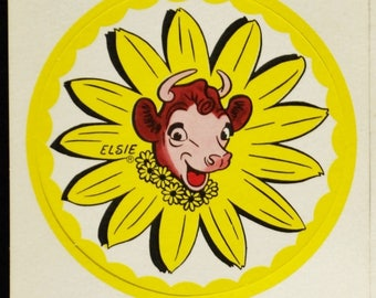 1950's BORDENS Advertising with Elsie the Cow, Coasters and Recipes.....FREE SHIPPING.