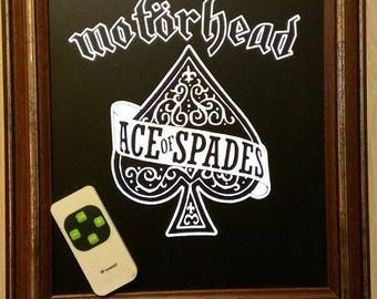 "Frame bright MOTÖRHEAD ""Ace of Spades"""