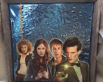 The Eleventh Doctor Who Pin Board