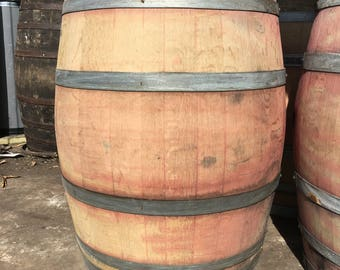 4 Retired Napa Valley Wine Barrel Used Oak 59 Gallons Free Shipping!
