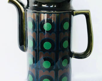Mid-Century Arthur Wood Coffee Pot - Made in England