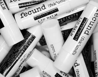 Herbal Lip Balm *Chocolate Mint, Spiced Cocoa, Vanilla Chai* - .15 oz Tube