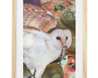 """Collage """"The owl"""""""
