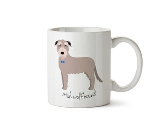 Irish Wolfhound Mug (boy)