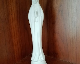 Virgin Mary Ceramic Statue Vase