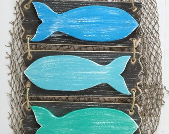 Fish Art Nautical Decor