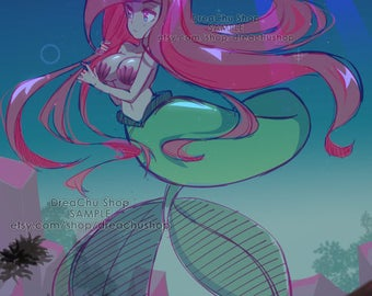 Ariel - Little Mermaid Print