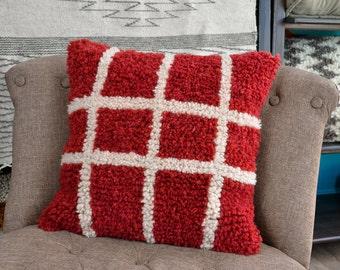 Wool cushion - Squares