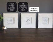 Mr & Mrs personalized Art...