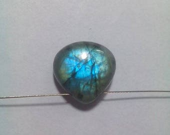 Labradorite 14 MM Smooth Driiled  Briolette