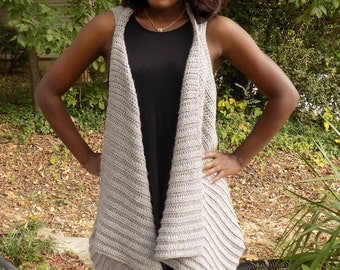 Everyday Vest, Vest, Crochet Vest