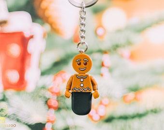 Gingerbread Man Lego keychain USB stick (SanDisk)